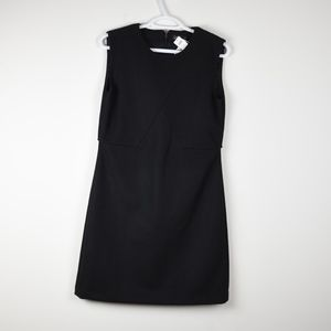 Kate Spade Saturday Black Wool Shift Dress NWT 6